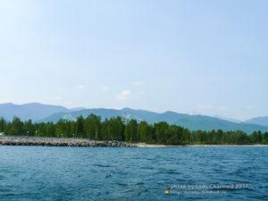 г. Байкальск, берег Байкала