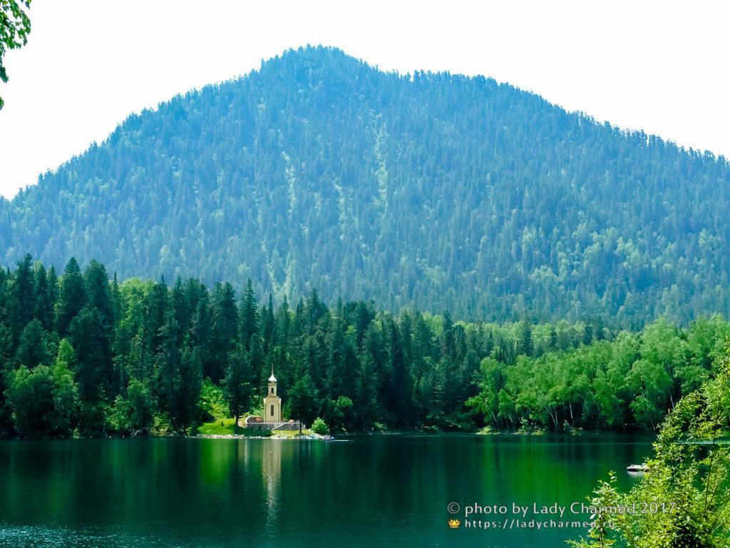 Вид на озеро Тёплое