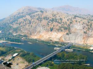 Вид с крепости Розафа